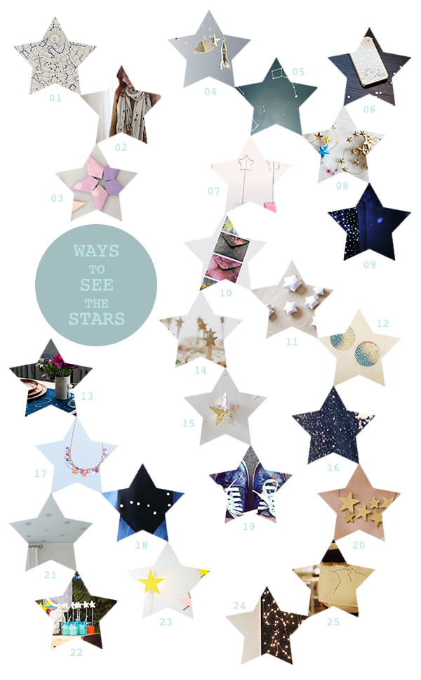 Creative ways to see the stars (no sky needed!).