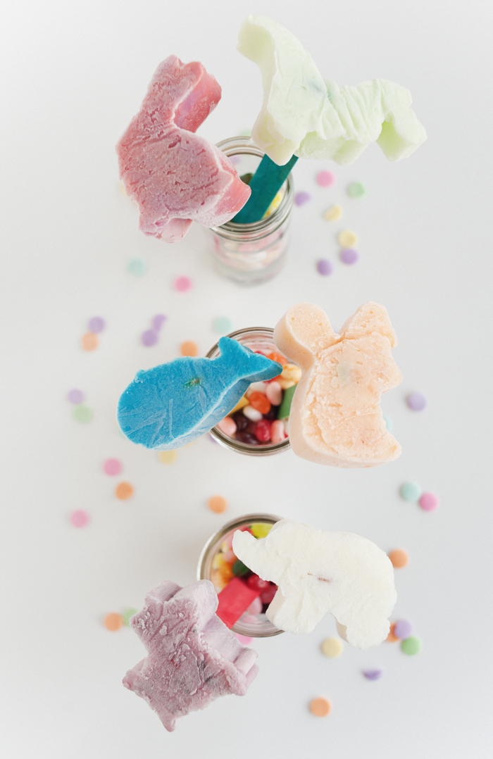 Sweet Tooth | DIY Animal Popsicles via A Subtle Revelry