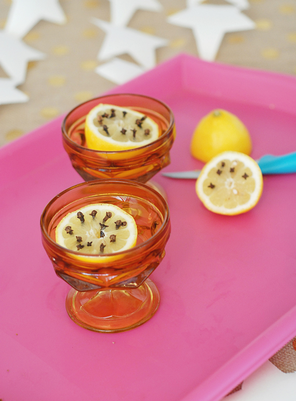 Use a half of lemon and cloves to keep flies away - 13 great summer party hacks | A Subtle Revelry