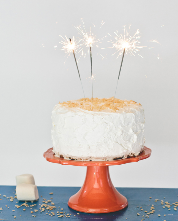 Rice Krispies Cake | A Subtle Revelry