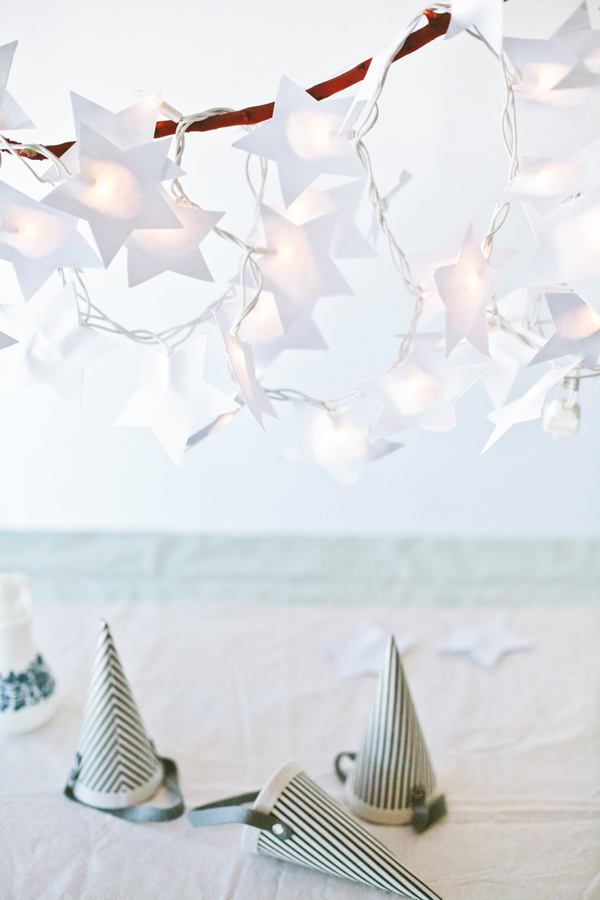 Paper Star Light Garland | A Subtle Revelry
