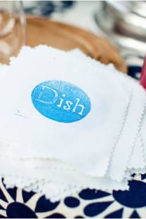 Dish stamp- tutorial