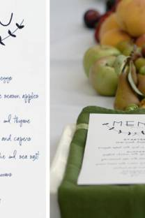 reason to celebrate | a pretty menu print