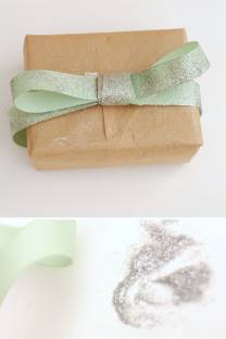 wrap it up | with glitter and bows