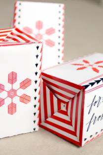 wrap it up | in candy boxes