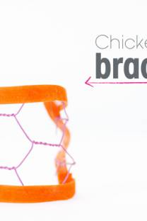 chicken wire bracelet