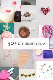 50+ DIY heart ideas