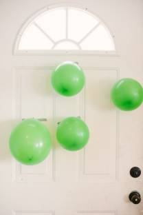 April Fools Balloon Explosion