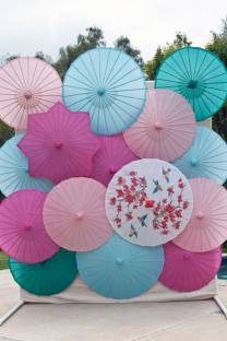 Bright Parasol Installation
