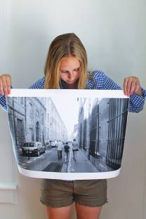 large print photo wrapping paper