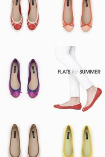 win a pair of flats for summer