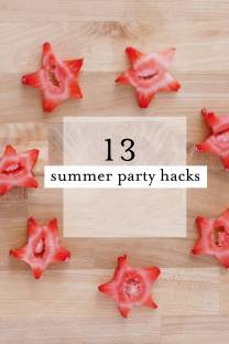 13 summer party hacks