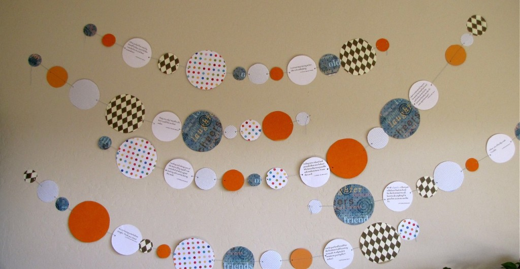 Twitter birthday ideas - a timeline party banner