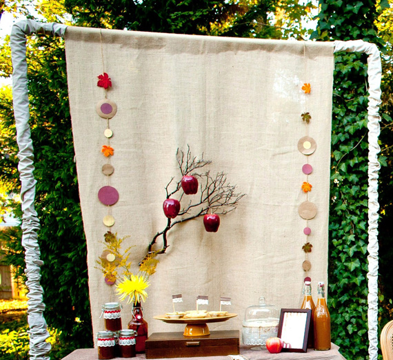 Fabric Backdrop Frame- A Tutorial • A Subtle Revelry