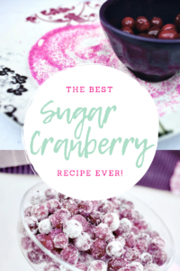 Sugar Cranberry Recipe