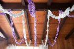 fabric party streamers