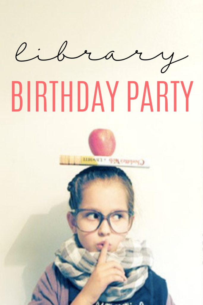library birthday party