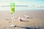 reason to celebrate | bubbles on the beach