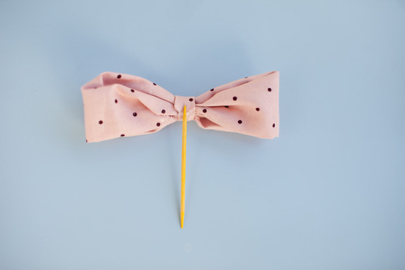 Easy fabric bow