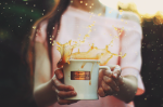 reason to celebrate | a shared coffee cup