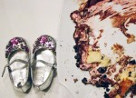 reason to celebrate | little shoes and cake