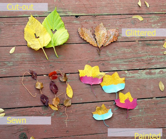 Leaves Four Ways by A Subtle Revelry