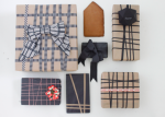 wrap it up | with graphic lines and floppy bows