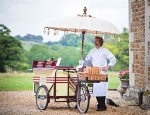 reason to celebrate | bicycle ice cream cart