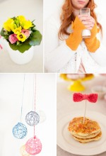 bright wintry bridal shower