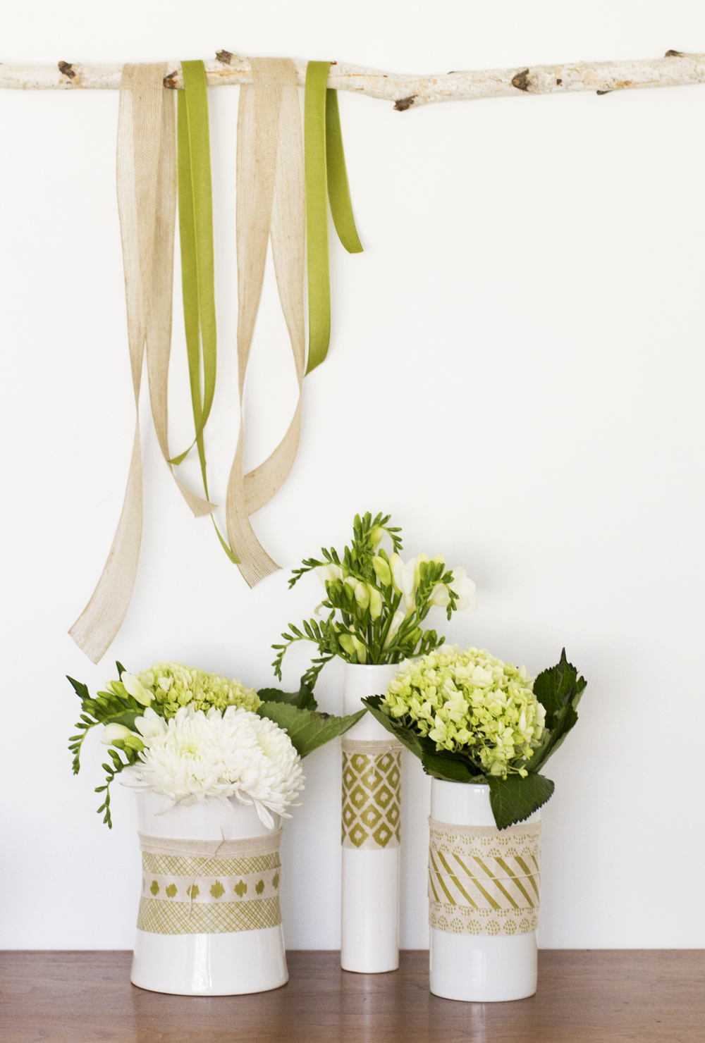 Custom Fabric Vases A Subtle Revelry