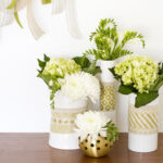 Custom fabric vases