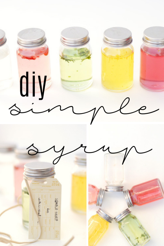 diy simple syrup
