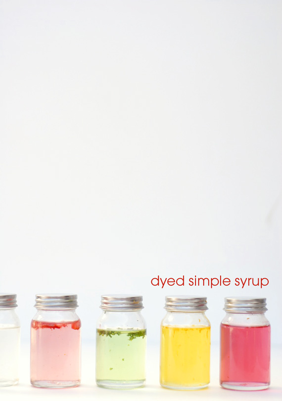 diy simple syrup bottle