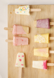 gourmet yogurt pops