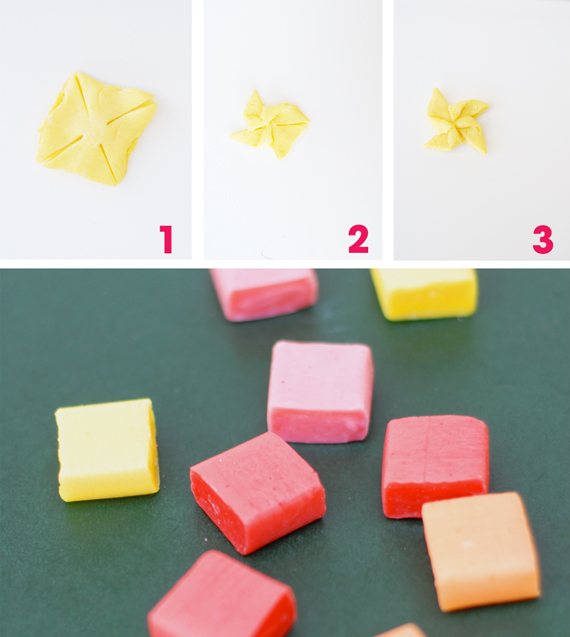 origami candy pops � a subtle revelry