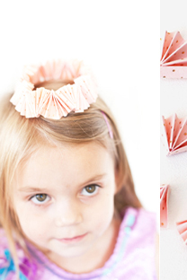 accordion kids birthday crowns