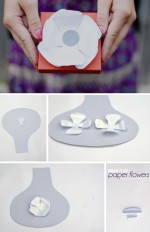 wrap it up | with paper flowers