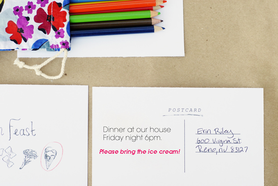 Printable Dinner Feast Invitations • A Subtle Revelry
