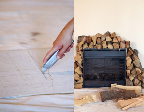 Make your own fireplace