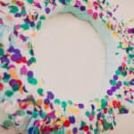Bright Confetti Wreath