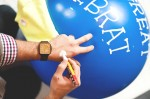 How to hand font a balloon