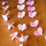 Dimensional Heart Garland