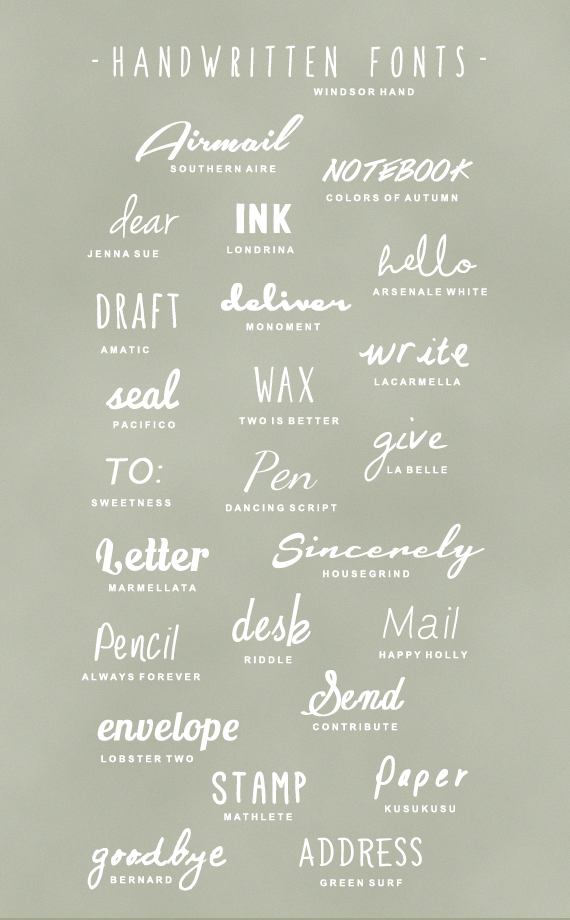 best handwriting fonts free download 25 free handwritten fonts a subtle revelry 11701