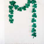 The Easiest St. Patrick's Day Garland