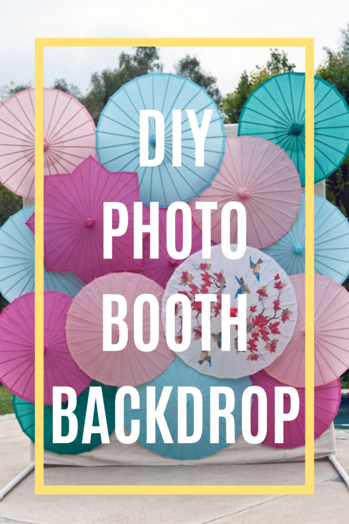 diy pvc backdrop