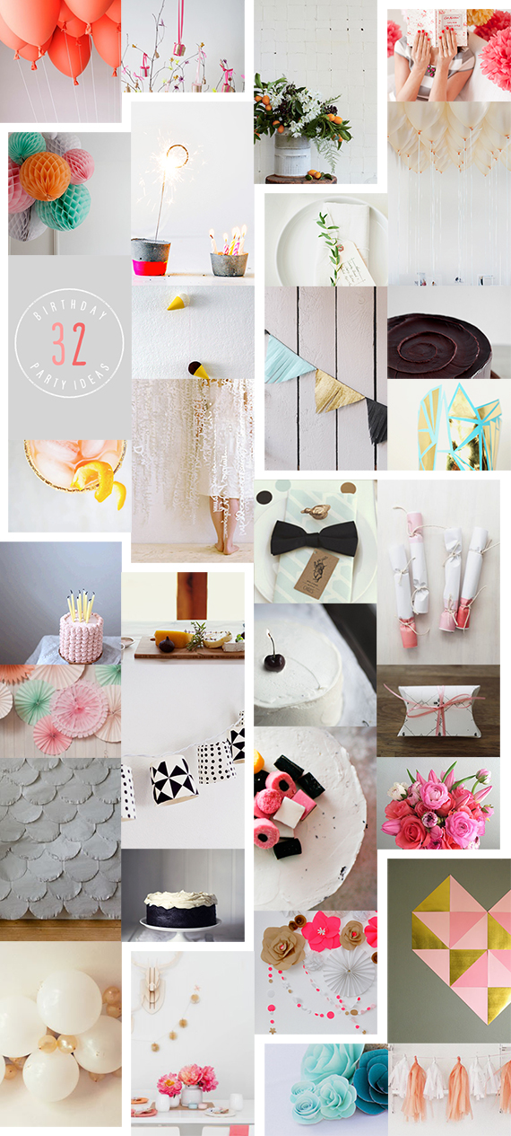 32 Creative Birthday Party Ideas – A Subtle Revelry