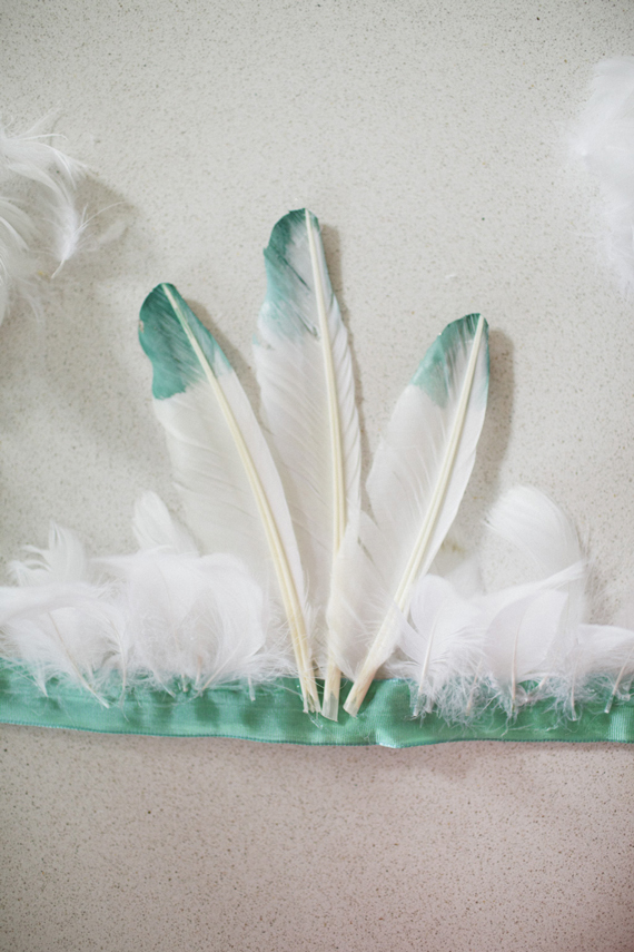 diy feather headdress