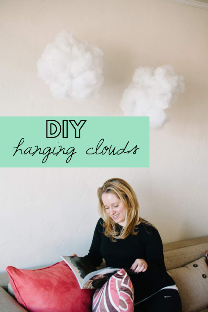 How to make clouds for decoration