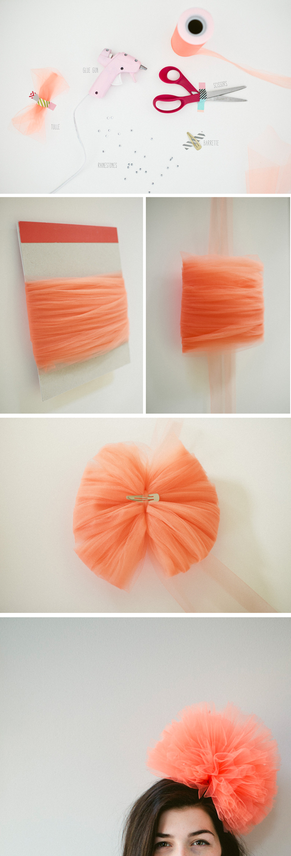 how to make a tulle hat