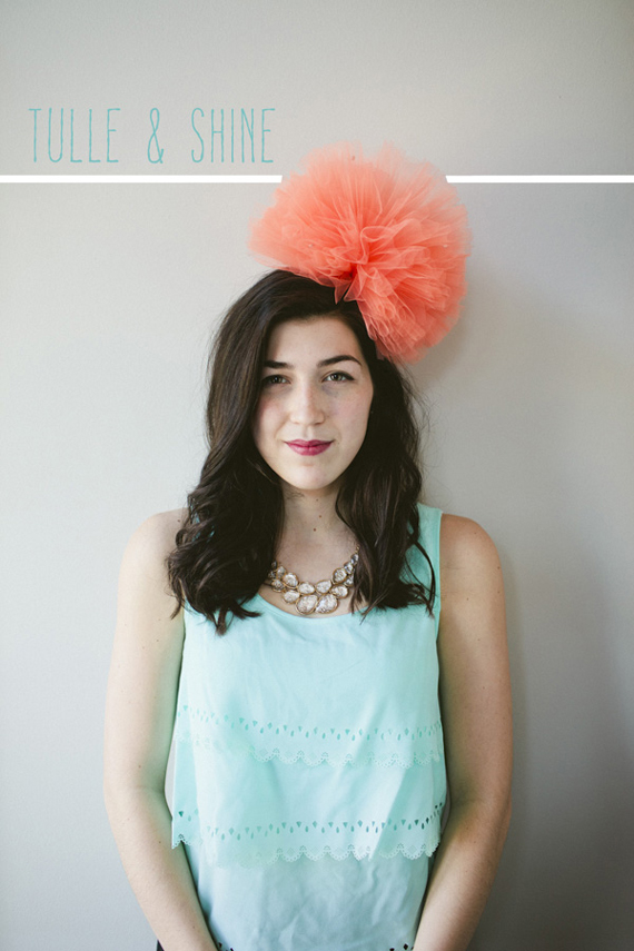 tulle bows diy